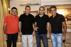 Lula Matos, Edson Ventura Filho, Osni Oliveira e Paulo Thomaz