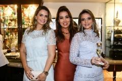 Taís Pinto, Ana Vládia Sales e Michelle Aragão