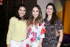 Anaelice Caminha, Rafaella Asfor e Cibele Nunes