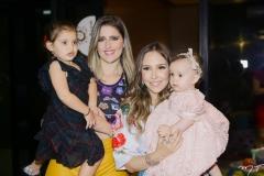 Athina e Rebeca Bastos, Rafaella e Bianca Asfor