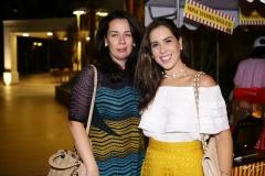 Cristine Marinho e Marcela Forte