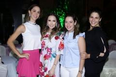 Lívia Vieira, Rafaella Asfor, Silvinha Leal e Carolina Ary