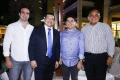 Lucas Asfor, Valdetário Monteiro, Bruno Carrá e Teodoro Santos