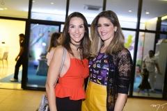 Marcela Cabral e Rebeca Leal