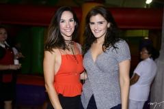 Marcela Carvalho e Isabele Studart