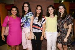Miriam Bastos, Carla Fonteles, Carol Aragão, Anaelice Caminha e Cibele Nunes