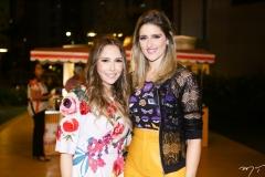 Rafaella Asfor e Rebeca Leal