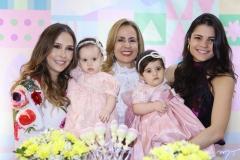 Rafaella e Bianca Asfor, Tereza Ximenes, Luísa e Priscila Becco