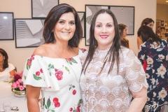 Márcia Aguiar e Jaqueline Turbay