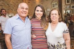 Anchieta Bezerra, Rebeca Rios e Jonila Bezerra