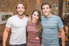 André Montenegro, Rebeca Rios e Dado Montenegro