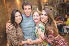 Andrea Rios, Dado Montenegro, Lúcia Montenegro e Rebeca Rios