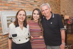 Cecília Rios, Rebeca Rios e Abner Peixoto