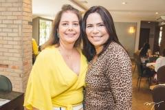 Cláudia Gradvohl e Andrea Rios