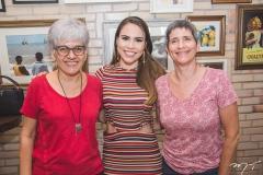 Jonia Bezerra, Rebeca Rios e Cíntia Carvalho
