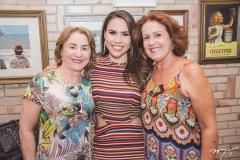 Lúcia Montenegro, Rebeca Rios e Norma Câmara