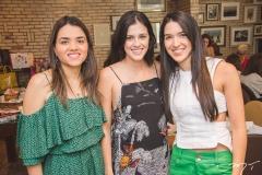 Maria Eduarda Cavalcante, Nayana Azevedo e Lizandra Fujita
