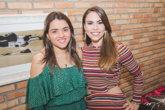 Maria Eduarda Cavalcante e Rebeca Rios