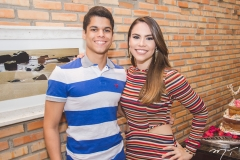 Maurício Oliveira e Rebeca Rios