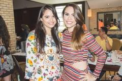 Natália Falcão e Rebeca Rios