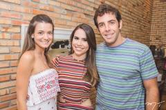 Rafaela Scienza, Rebeca Rios e Dado Montenegro
