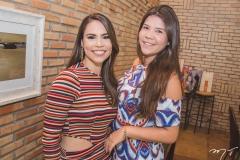 Rebeca Rios e Vitória Alencar