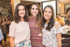 Sarah Pianowski, Rebeca Rios e Larissa Pacheco