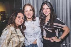 Elaine Ricarte, Raquel Serejo e Mirela Collier