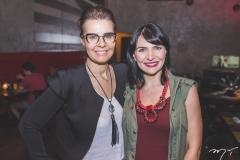 Kelly Pires e Luciana Carvalho