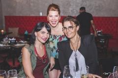 Luciana Carvalho, Marciany Holanda e Kelly Pires