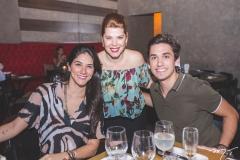 Mirela Collier, Marciany Holanda e Bruno Parente
