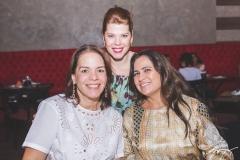 Raquel Serejo, Marciany Holanda e Elaine Ricarte