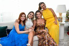 Adriana Aurila, Sofia Cruz, Pauliane Campos e Ednice Bezerra