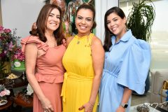 Ana Lúcia Machado, Ednice Bezerra e Leticia Lima