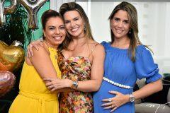 Ednice Bezerra, Pauliane Campos e Andrea Romero