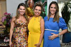 Pauliane Campos, Ednice Bezerra e Andrea Romero