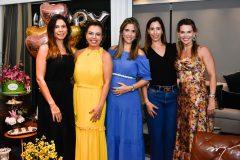 Renata Pontes, Ednice Bezerra, Andrea Romero. Juliana Pontes e Pauliane Campos