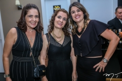 Giana Studart,Fernanda Moriconi e Renata Holanda