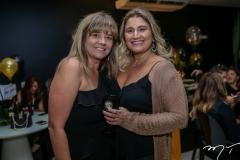 Luciana Aragão e Karina Bezerra