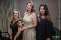 Monique Mota, Rachel Siqueira e Manoela Parente