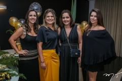 Ticiana e Clarisse Mota, Giana Studart e Manoela Parente