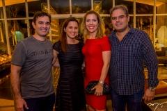 Abelardo E Viviane Rocha, Ticiana Rolim Queiroz E Edson Queiroz Neto