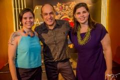 Larissa Porto, Sergio Cavalcante E Mariana Franco