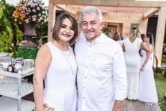 Liliane Fernandes e Everton Fernades