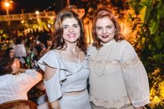 Rilka Bezerra e Raquel Alonso