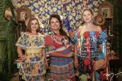 Karisia Texeira, Ana Luiza Costa Lima e Alexandrina Aguiar