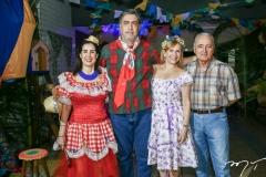 Valéria e Hugo Granjeiro, Cristina e Airton Montenegro