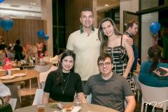 Clarisse e Claudio Carneiro, Marcio Andrade e Natalia Aragão