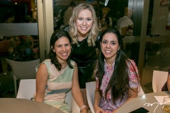 Gisela Fujiwara, Nanette Pimentel e Ana-Virginia Carvalho