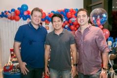 Leonardo Pimentel,Rodrigo Nagashima e Roberto Briand